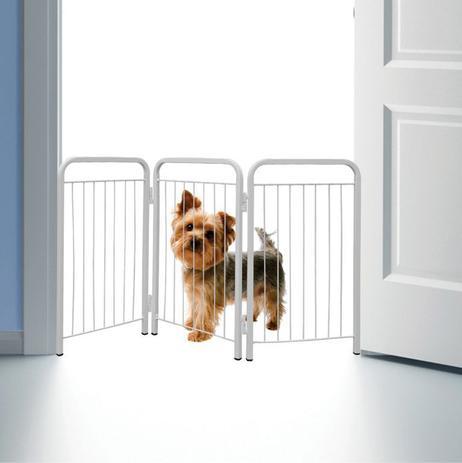 Imagem de Cercado canil para cães pequenos branco - açomix