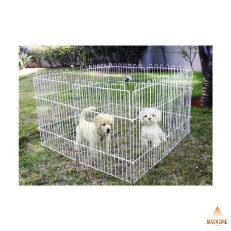 Imagem de Cercado Para Cachorro Pets Cães Pequenos Animais Mini Cercado Canil Para Cães Portátil Sem Porta 6 Peças