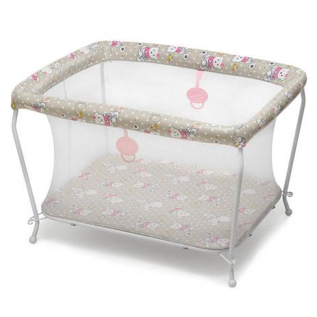 Imagem de Cercado para Ursinha Bebê Regular com Tela Mosqueteiro - Galzerano