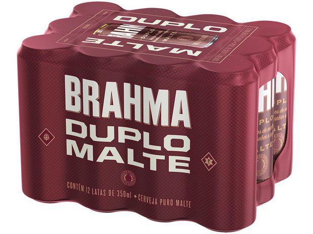 Imagem de Cerveja Brahma Duplo Malte 350ml