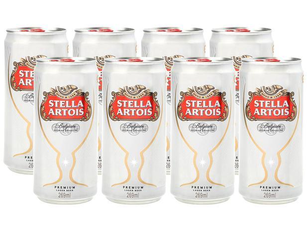 [Cliente Ouro] [Parcelado] [App] 7 Packs Cerveja Stella Artois 269ml - (56) 8 Unidades