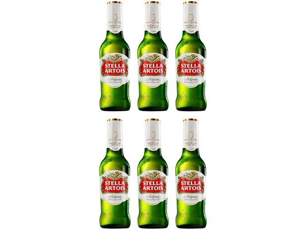 Imagem de Cerveja Stella Artois Belgium Lager 6 Unidades