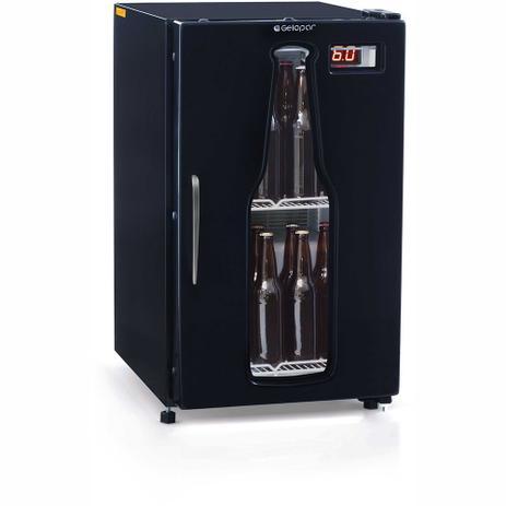 Imagem de Cervejeira GRBA-120PR Vidro Temperado Duplo Frost Free Capacidade 120 L Gelopar