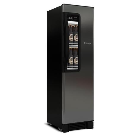 Imagem de Cervejeira Vertical Metalfrio Beer Maxx 300 Porta Glass Viewer 287L Aço Inox VN28TP 220V 220V