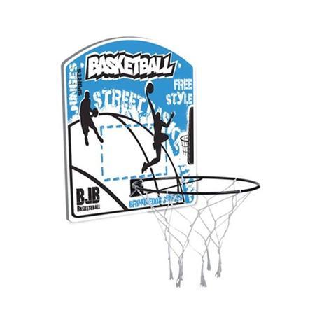 Cesta tabela de basquete com aro + rede free style completo - Junges ... 210e7d1252f73