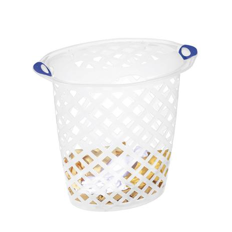 Imagem de Cesto de roupas plástico sanremo 46,5l cristal