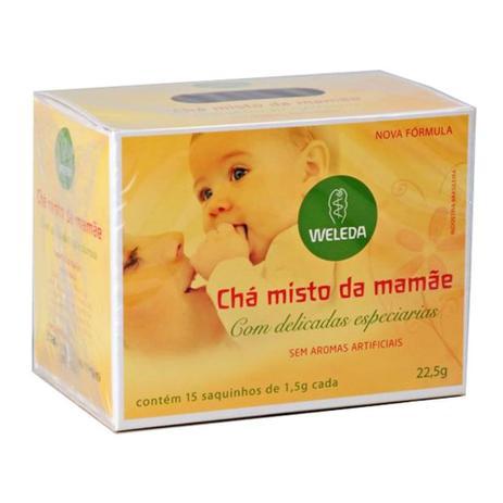 Imagem de Chá Misto da Mamãe Weleda c/ 15 Saquinhos de 1,5g Cada