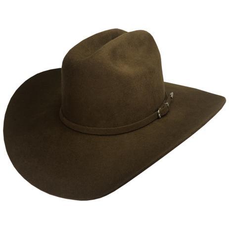 Chapéu americano lã marrom ref 401 tam g - a1p7lanmarrom - Chapéus mundial da0f5cc7da7