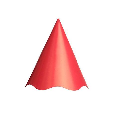 db3ed9acd5f7e Chapéu Aniversário Vermelho 8Un - Aluá festas - Chapéu de ...