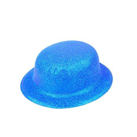 07dd1d5d2d0362 Chapéu Coquinho Azul com Glitter Furta Cor - Festabox