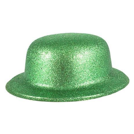 e6a74f1df32476 Chapéu Coquinho de Plástico com Glitter Verde - Aluá festas
