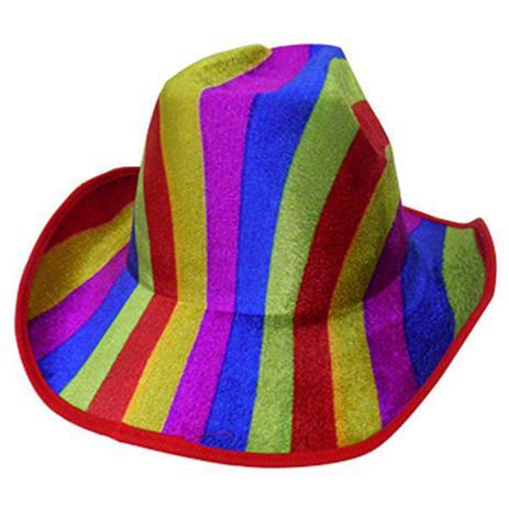Chapeu Cowboy Kit Com 5 Festa Carnaval Baile Fantasia Colorido Novidade (BSL -2544-9) - Braslu 9f446b02c56