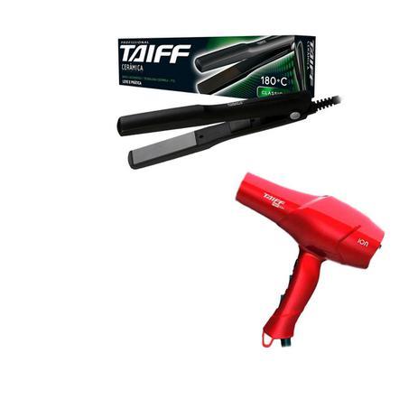 950517350 Chapinha Taiff Cerâmica Bivolt + Secador Red Ion VM 110V - Chapinhas ...