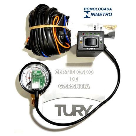 Imagem de Chave Comutadora completa GNV ou Kit Elétrico p/ Kombi TURY T1000B