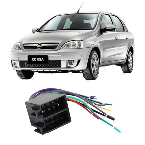 Imagem de Chicote Chevrolet Corsa 2002 a 2011 Adaptador Rádio DVD CD Multimídia