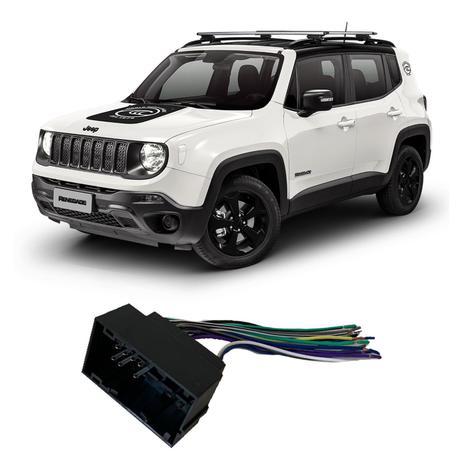 Imagem de Chicote Jeep Renegade 2015 a 2020 Adaptador Rádio DVD CD Multimídia