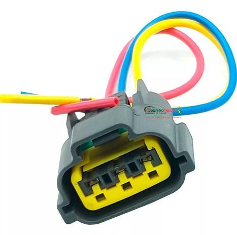 Imagem de Chicote Plug Conector Bobina Ignição Fiat Marea Brava 1.8 16v