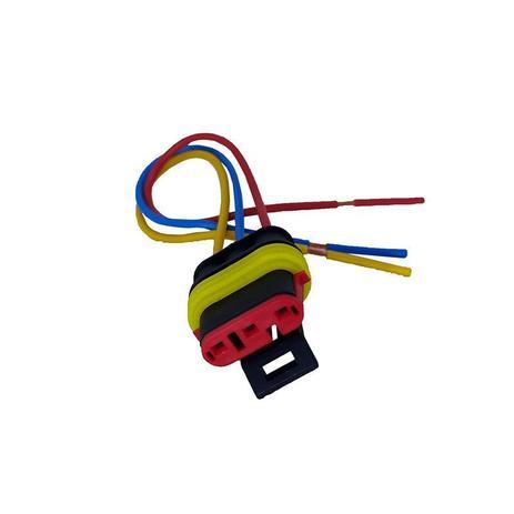 Imagem de Chicote sensor diagnostico/bobina tc fiat, gm, renault fiat uno, tempra, palio-sensor posicao borboleta tps bobina gm s10 4.3-map renault clio 1.0 16v