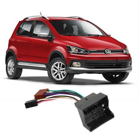 Imagem de Chicote Volkswagen CrossFox 2005 a 2017 Adaptador Rádio DVD CD Multimídia