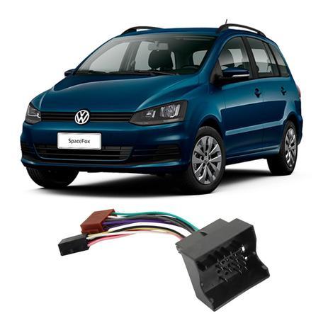 Imagem de Chicote Volkswagen SpaceFox 2006 a 2018 Adaptador Rádio DVD CD Multimídia