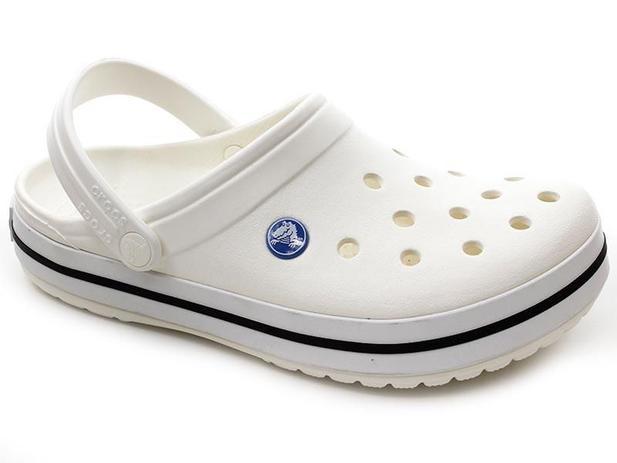 5a5f80fa0 Chinelo Crocs Crocband Branco - Chinelo Masculino - Magazine Luiza