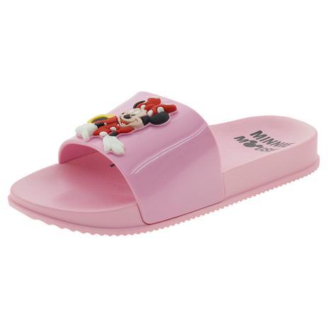 54cffdc18d1728 Chinelo Infantil Disney Grendene Kids - 22120 ROSA ROSA