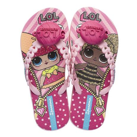 5fa6d63ac Chinelo Infantil LOL Surprise Doll - Ipanema Rosa - Grendene ...