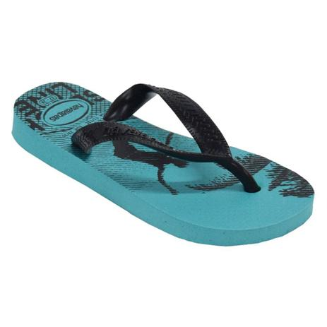 a029843f22 Chinelo Infantil Top Athletic - Havaianas Preto e Azul - Chinelo ...