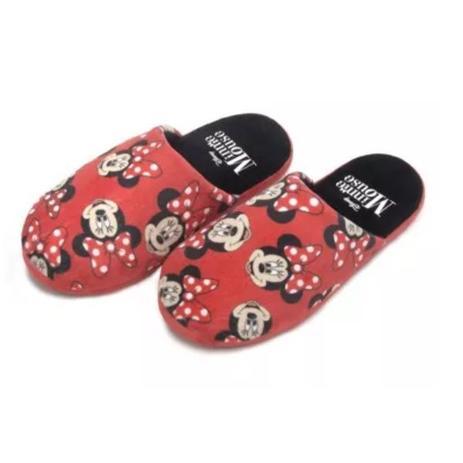 20fd659ae Chinelo Pantufa Feminino Minnie Mouse - Ricsen - Acessórios para ...