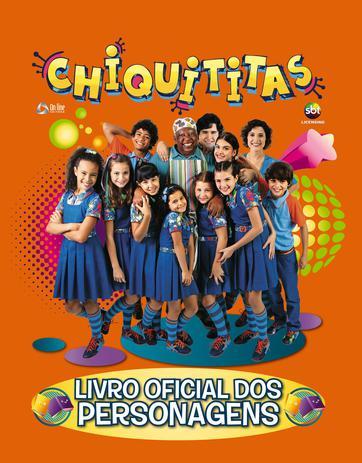 Imagem de Chiquititas livro oficial dos personagens 01