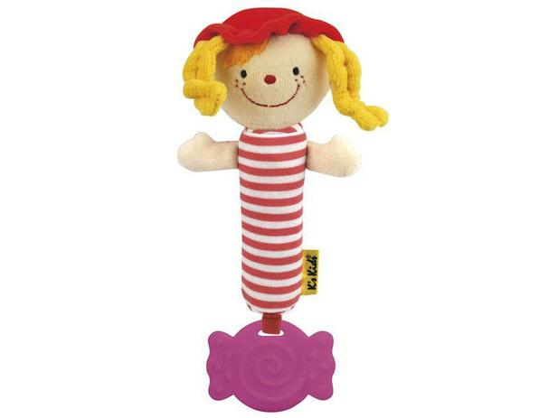 Chocalho Squeaky Baby Julia - Ks Kids