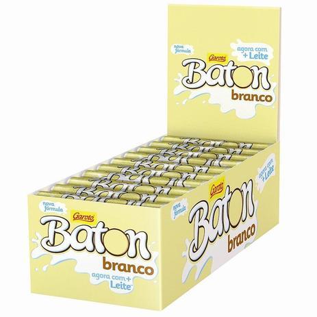Imagem de Chocolate Baton Branco 16gr C/30un - Garoto