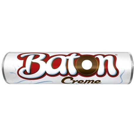 Imagem de Chocolate Baton Recheado Leite Creme 16g - 30 unidades - Garoto