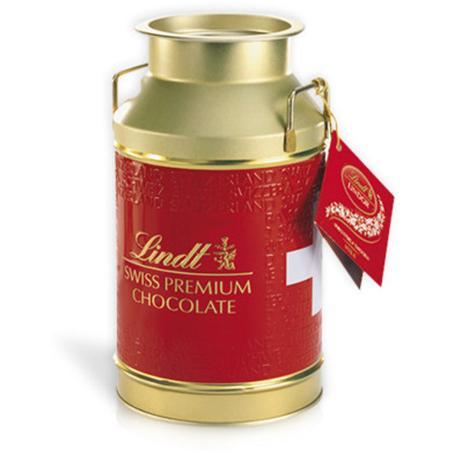 137dd03b7ee0d Chocolate lindt lata de chocolate ao leite com recheio cremoso (250g ...