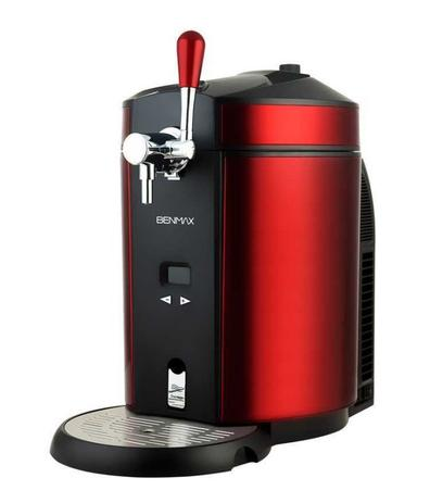 Imagem de Chopeira Elétrica Maxi Cooler Bivolt 5L Vermelha Benmax