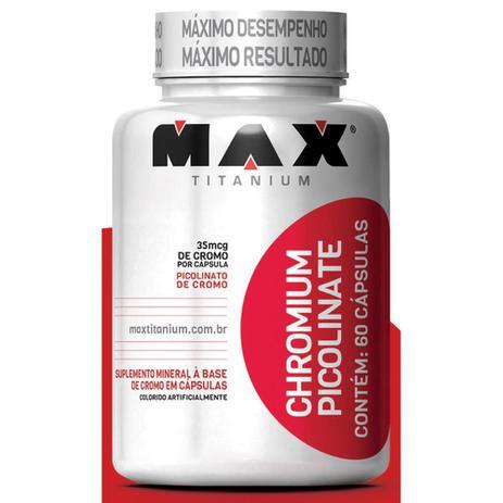 Imagem de Chromium Picolinato 60 Cáps - Max Titanium