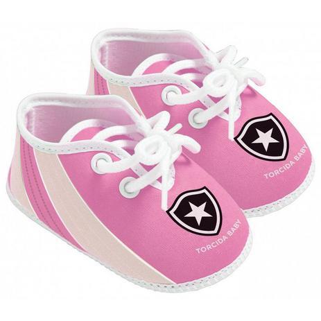 2565754921 Chuteira Bebê Botafogo Rosa Oficial - Torcida Baby - Chuteira ...