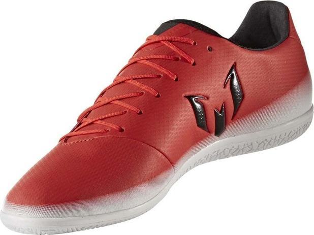 854fa971475 Chuteira futsal adidas messi 16.3 in masculina - vermelho e branco ...