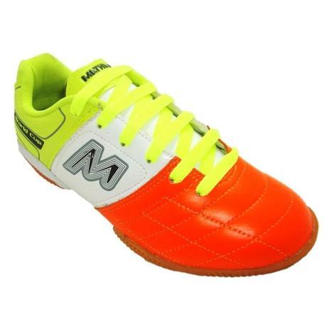 Chuteira Futsal Indoor Mathaus Italia Couro Natural Legítimo ... fe9be86b2974e