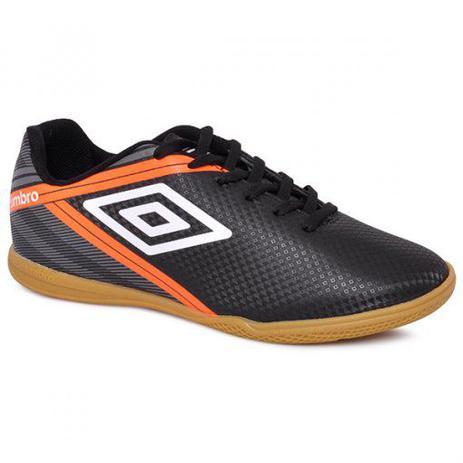 Chuteira Futsal Umbro Drako Adulto - Preto - Tênis de Futsal ... b51a4b27d850f