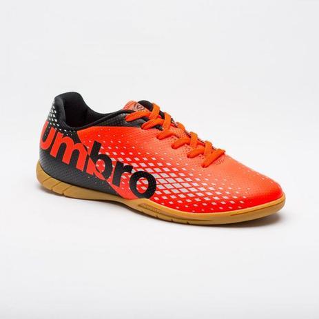Chuteira Futsal Umbro Innverse Adulto - Preto Coral - Chuteira ... 76a8f718d4117