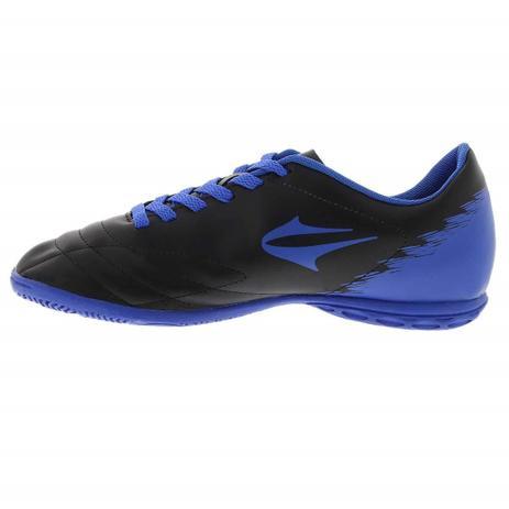 Chuteira Slick II Preto Azul Futsal - Topper - Chuteira - Magazine Luiza dfa9c4bf52708