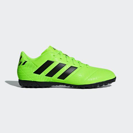 Chuteira Society Adidas Nemeziz Messi Tango 18.4 - Verde - Chuteira ... 0e89e6b586750