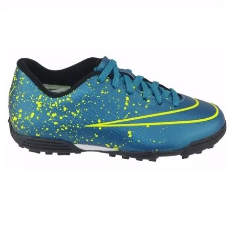 ea9fe44265 Chuteira Society Mercurial Votex II TF Junior - Nike - Chuteira ...