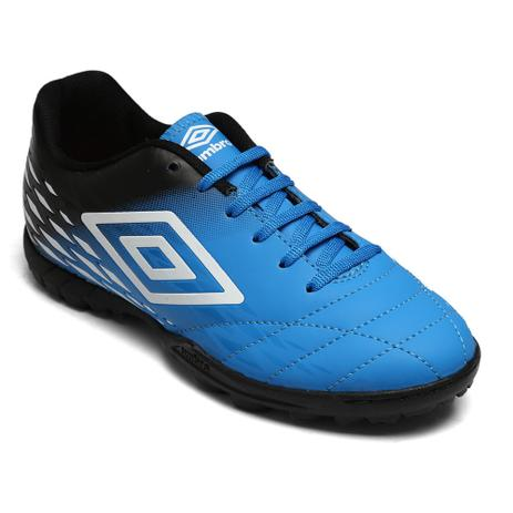d9285a073abf2 Chuteira Society Umbro Fifty II Azul/Preto/Branco Of71089 - Chuteira ...