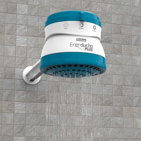 Chuveiro 3 Temperaturas Enerducha Plus Azul 5400W 220V Enerbras - Ducha -  Magazine Luiza