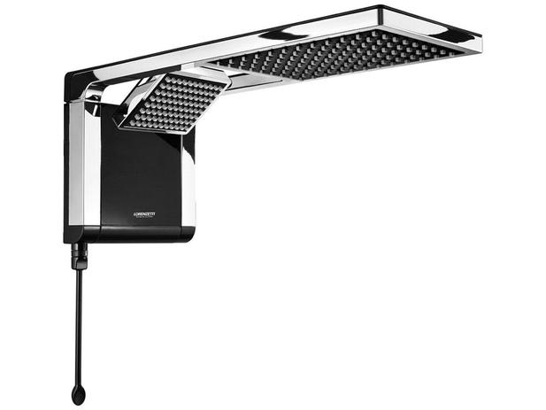 Imagem de Chuveiro Eletrônico Lorenzetti Aqua Duo Ultra - 7800W Preto e Cromado Temperatura Gradual