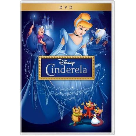 Cinderela Disney Desenho Dvd Buena Vista Home Entert Video