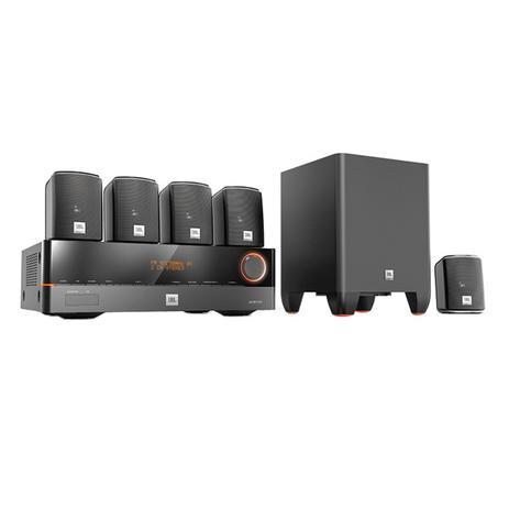 Imagem de CinemaJ5100 - Home Theater c/ Receiver 5.1 Canais 4 HDMI, 5 Caixas e 1 Subwoofer Cinema J5100 110V - JBL