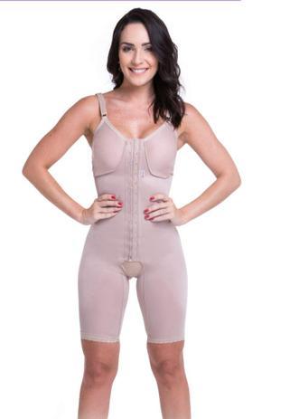 8c455eda4 Cinta para modelar o Corpo feminina Short com Alça e Fecho Frontal Pós  Cirúrgico Biobela